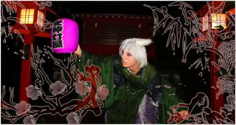 夜弓神楽狐之灯矢(ダンスパフォーマンス)