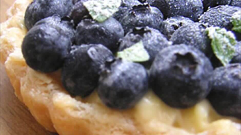 ブルーベリー収穫+ブルーベリー料理/パフェ・タルト