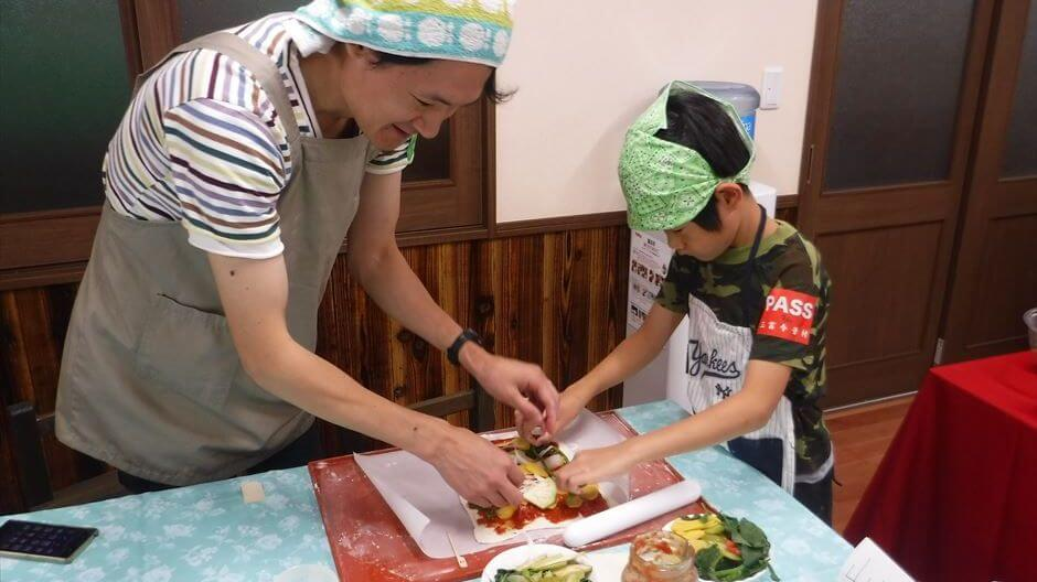 里山の暮らし体験3回セットA小麦 刈り取り~料理まで
