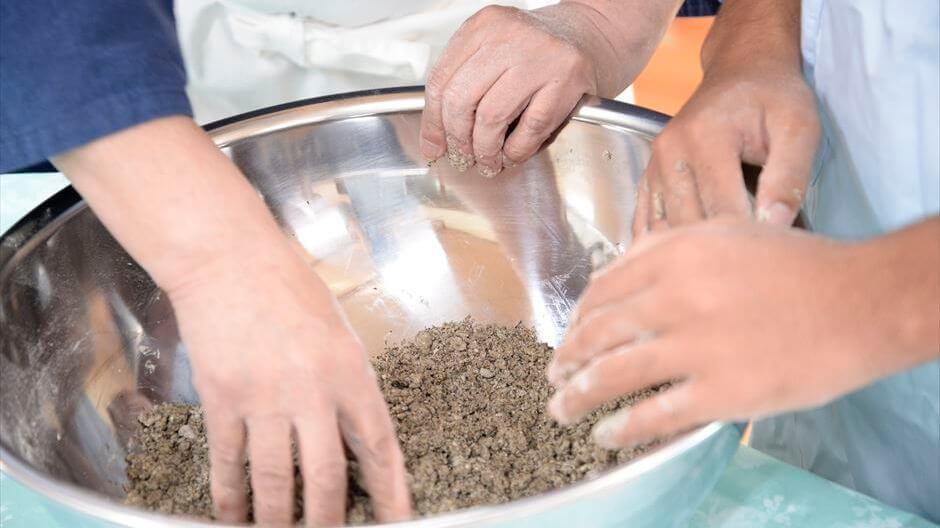 里山の暮らし体験3回セットB蕎麦 刈り取り~料理まで