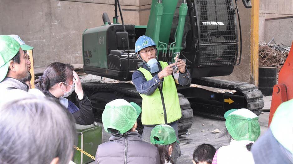 夏休み自由研究・リサイクル工場見学+廃材クラフト/小低学年